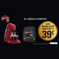 Offre de Remboursement Philips : Votre Machine Senseo à 39€