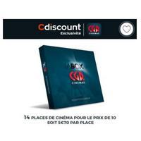 79,90€ les 14 Places de Cinéma CGR