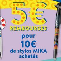 Offre de Remboursement Pilot : 5€ Remboursés sur la gamme «Edition Limitée MIKA»