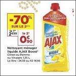 Bon Plan Nettoyant Ajax Boost chez Casino (08/01 - 20/01) - anti-crise.fr