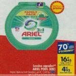 Bon Plan Lessive Ariel Pods 3en1 chez Carrefour (22/01 - 04/02) - anti-crise.fr