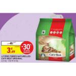 Bon Plan Litière Cat's Best chez Intermarché (29/01 - 10/02) - anti-crise.fr