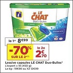 Bon Plan Lessive Le Chat Capsules chez Casino (08/01 - 20/01) - anti-crise.fr