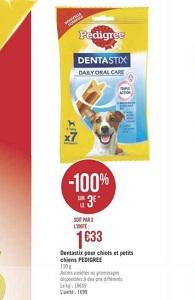 Bon Plan Sticks Dentastix de Pedigree chez Géant Casino (22/01 - 03/02) - anti-crise.fr