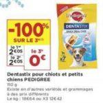Bon Plan Sticks Dentastix de Pedigree chez Casino (22/01 - 03/02) - anti-crise.Fr