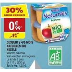 Bon Plan Dessert Naturnes Bio de Nestlé chez Atac (16/01 - 21/01) - anti-crise.fr
