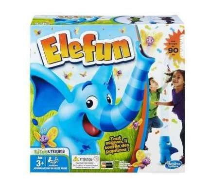 11,50€ le jeu ELEFUN d'Hasbro pour les petits