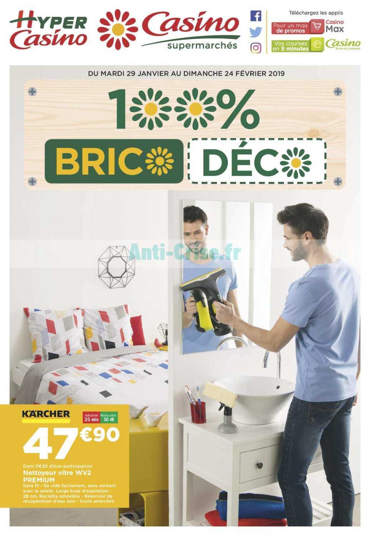 catalogue casino du 29 janvier au 24 f vrier 2019 brico d co catalogues promos bons plans. Black Bedroom Furniture Sets. Home Design Ideas