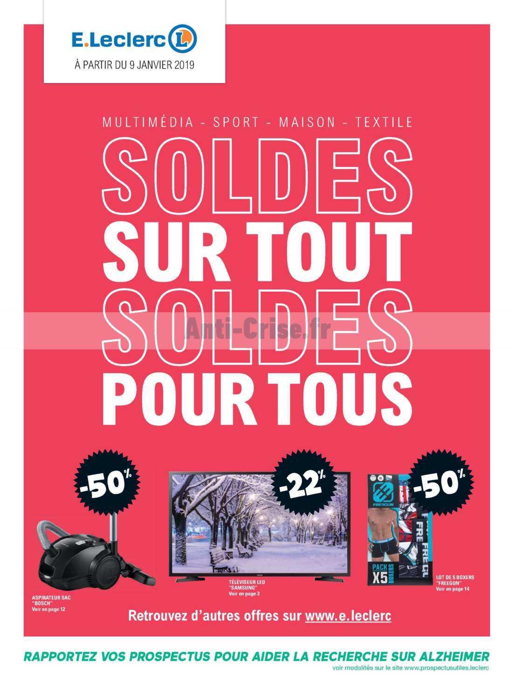 catalogue leclerc du 09 janvier au 19 f vrier 2019 bretagne soldes catalogues promos bons. Black Bedroom Furniture Sets. Home Design Ideas