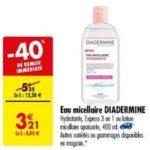 Bon Plan Eau Micellaire Diadermine chez Carrefour (29/01 - 04/02) - anti-crise.fr
