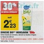 Bon Plan Douche Monsavon chez Carrefour Market (08/01 - 20/01) - anti-crise.Fr