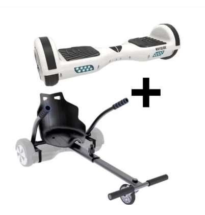 94€ l'ensemble hoverboard + kit karting