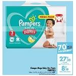 Bon Plan Culottes Baby-Dry Pants Pampers chez Carrefour (15/01 - 04/02) - anti-crise.fr