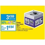 Bon Plan Power Gel Titane Taft chez Carrefour Market (08/01 - 20/01) - anti-crise.fr