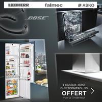 Bon Plan Liebherr : Casque Bose Quietcontrol 30 Offert