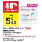 Bon Plan Soin Hydralist de Diadermine chez Carrefour Market - anti-crise.fr