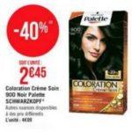 Bon Plan Coloration Palette Schwarzkopf chez Géant Casino - anti-crise.fr