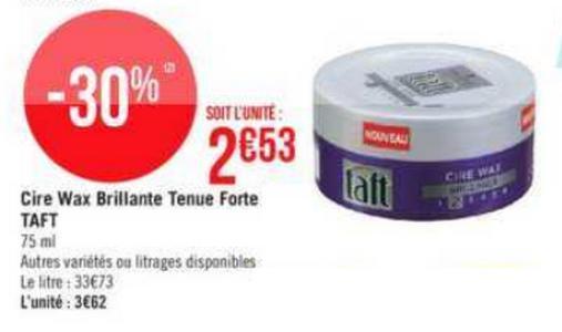 Bon Plan Produits Taft chez Géant Casino - anti-crise.fr