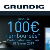 Offre de Remboursement Grundig : Jusqu'à 100€ Remboursés sur TV Vision 7 UHD