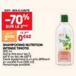 Bon Plan Shampooing Nutrition Intense Timotei chez Leader Price - anti-crise.fr