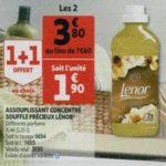 Bon Plan Adoucissant Lenor chez Auchan - anti-crise.fr