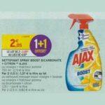 Bon Plan Nettoyant Ajax Boost chez Intermarché - anti-crise.fr