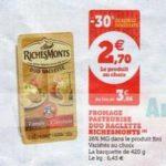 Bon Plan Raclette RichesMonts chez Magasins U - anti-crise.fr