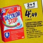 Bon Plan Lingettes Décolor Stop chez Leclerc - anti-crise.fr