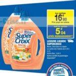 Bon Plan Lessive Super Croix chez Carrefour Market - anti-crise.fr