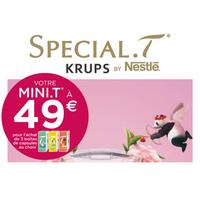 Offre de Remboursement Krups : Special.T Mini.T à 49€