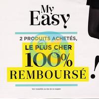 Offre de Remboursement Dim : 2ème Produit My Easy 100% Remboursé
