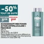 Bon Plan Shampooing Men Schwarzkopf chez Leader Price - anti-crise.fr