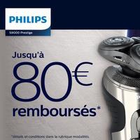 Offre de Remboursement Philips : Jusqu'à 80€ Remboursés Rasoir Series 9000 Prestige