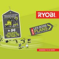 Bon Plan Ryobi : Un Outil Nu Offert pour 5€ de plus