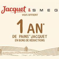 Bon Plan Smeg : 1 An de Pain Jacquet Offert