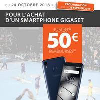 Offre de Remboursement Gigaset : Jusqu'à 50€ sur Smartphone