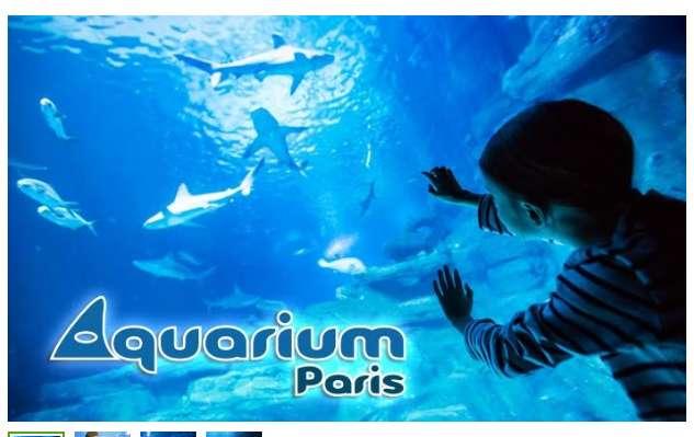 Billets moins chers pour l'Aquarium de Paris