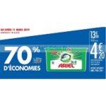 Bon Plan Lessive Ariel Pods 3en1 chez Carrefour (26/02 - 11/03) - anti-crise.fr