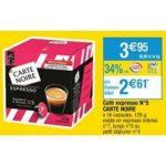 Bon Plan Capsules Pour Dolce Gusto Carte Noire chez Cora (05/02 - 11/02) - anti-crise.fr