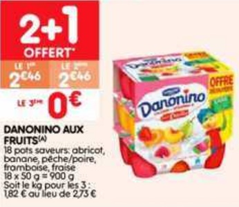 Bon Plan Danonino chez Leader Price (26/02 - 10/03) - anti-crise.fr
