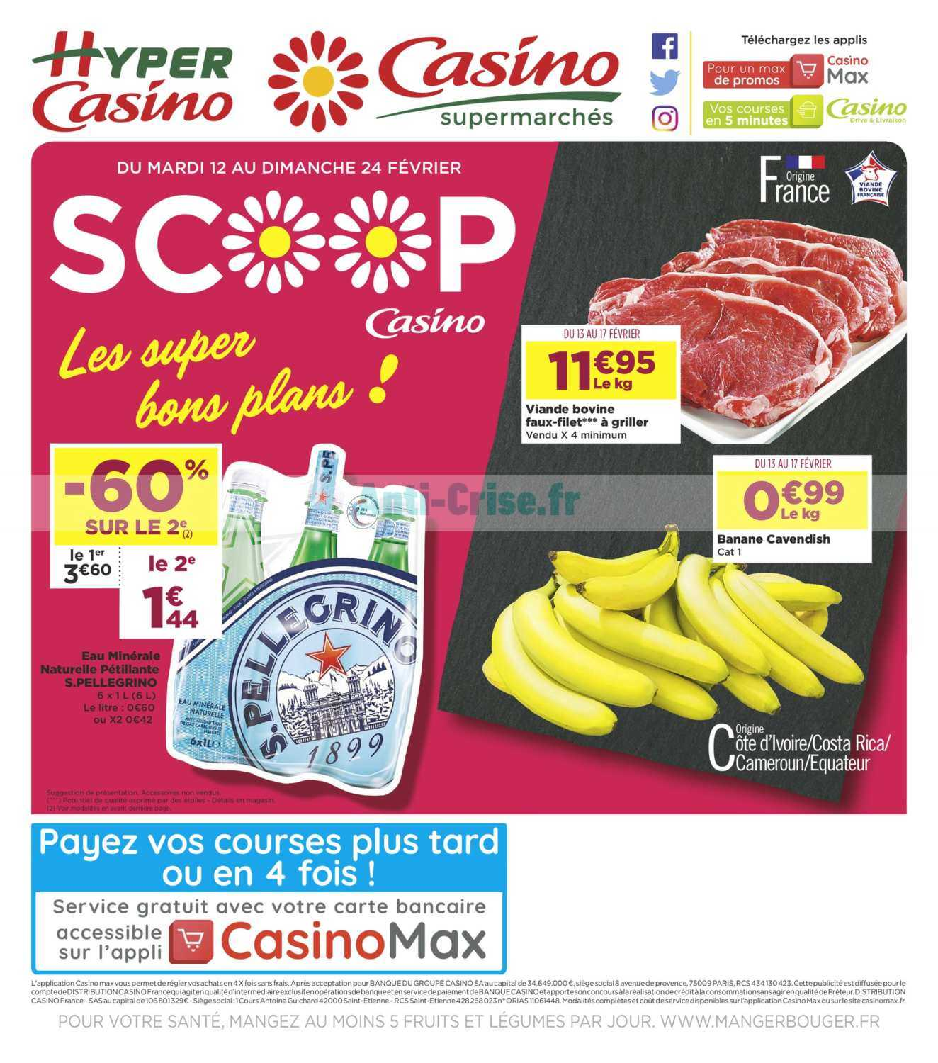 Catalogue Casino du 12 au 24 février 2019