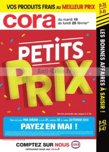 b6a07c76f166b0 Les catalogues Cora - Anti-crise.fr