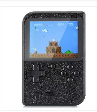 11.8€ la console portable avec 400 jeux retrogaming