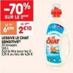 Bon Plan Lessive Liquide Le Chat chez Leader Price (26/02 - 10/03) - anti-crise.Fr