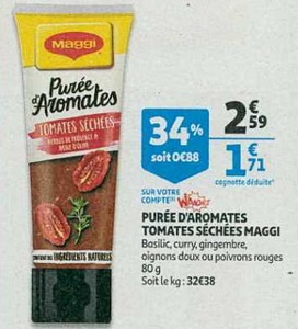 Bon Plan Purée d'Aromates Maggi chez Auchan (06/02 - 12/02) - anti-crise.fr