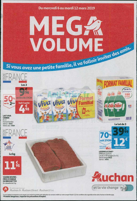 Catalogue Auchan du 06 au 12 mars 2019 (Mega Volumes)