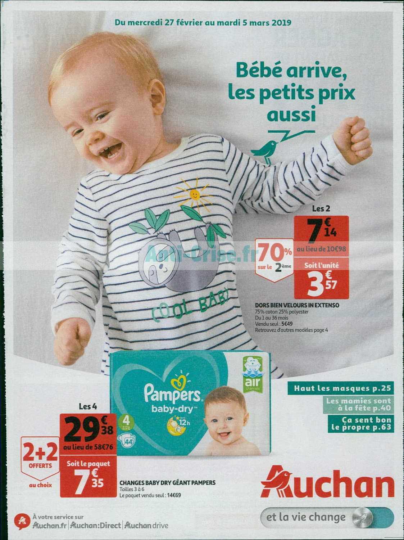 Catalogue Auchan du 27 février au 05 mars 2019 (Bébé Arrive)