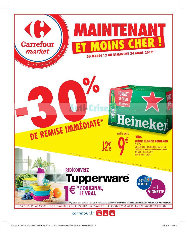 Catalogue Carrefour Market du 12 au 24 mars 2019