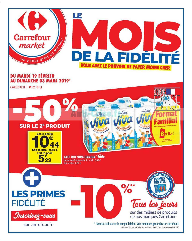 Catalogue Carrefour Market du 19 février au 03 mars 2019