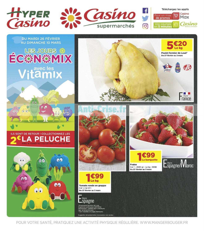 Catalogue Casino du 26 février au 10 mars 2019 (Economix 2)